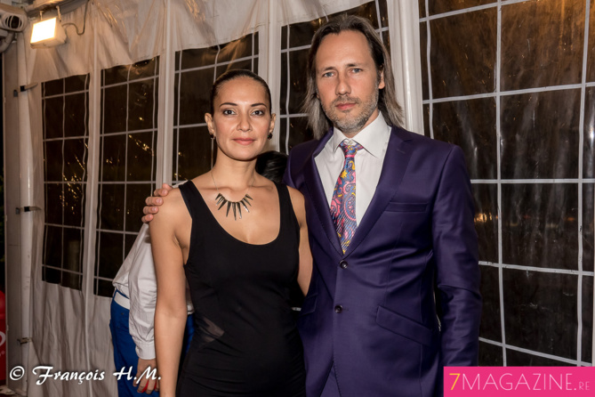 Frédéric Drotkowski et sa compagne Alexandra