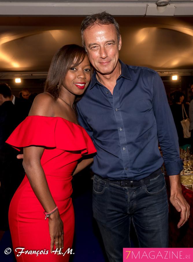 Le couple télévisuel toujours très amoureux, Valérie Filain et Jean-Marc Collienne