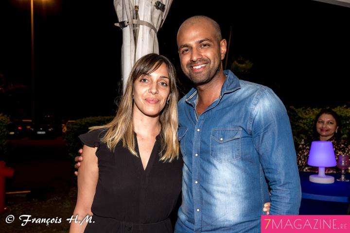 Youcha Ravate et sa compagne Alexia