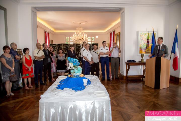 Une cérémonie dans les salons de la Préfecture