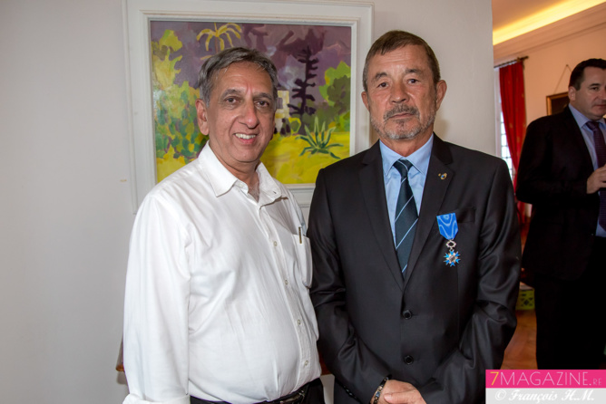 Aziz Patel et Jacques Laravine