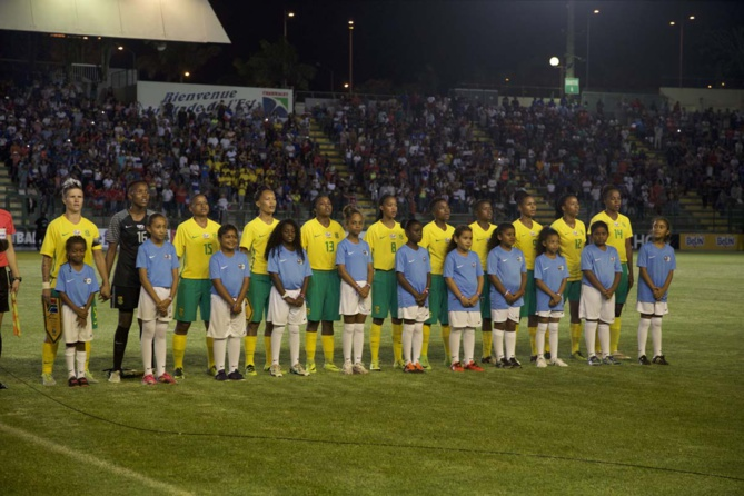 Les Bleues battent les Sud-Africaines 2 buts à 0