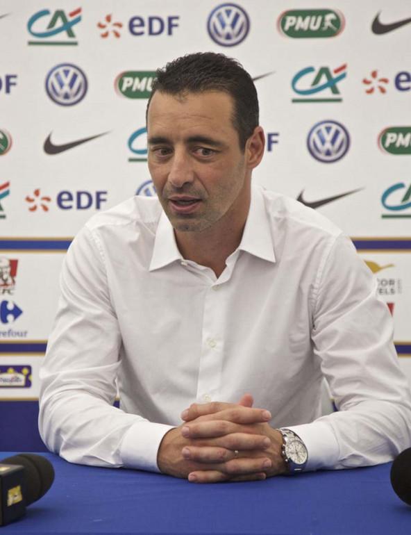 Olivier Echouafni, le sélectionneur de l'équipe de France féminine de football