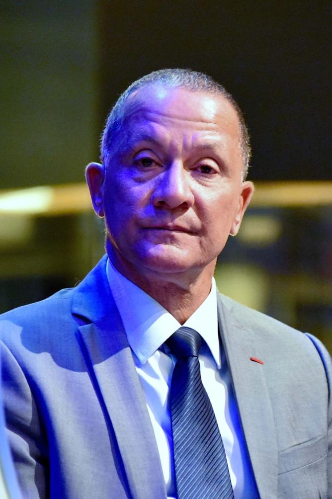 Rodolphe Alexandre, président de la collectivité territoriale de Guyane