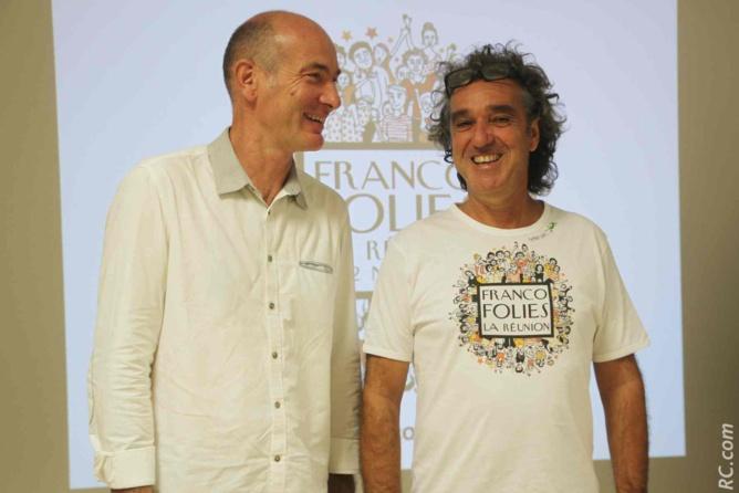 François Vigneron, Directeur du Conservatoire Régional de Musique et Jérôme Galabert semblent être sur la même longueur d'ondes