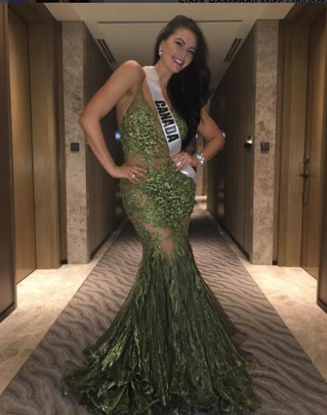 Miss Canada a pris du poids avant Miss Univers et assume!