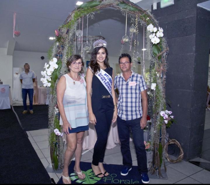Avec Myriam Poingt et son époux de Déco Florale