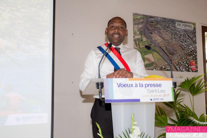 Thierry Robert, député-maire de Saint-Leu