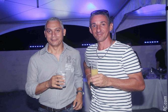 Mickaël Rje Luspot et Didier Fontaine de la GTOI