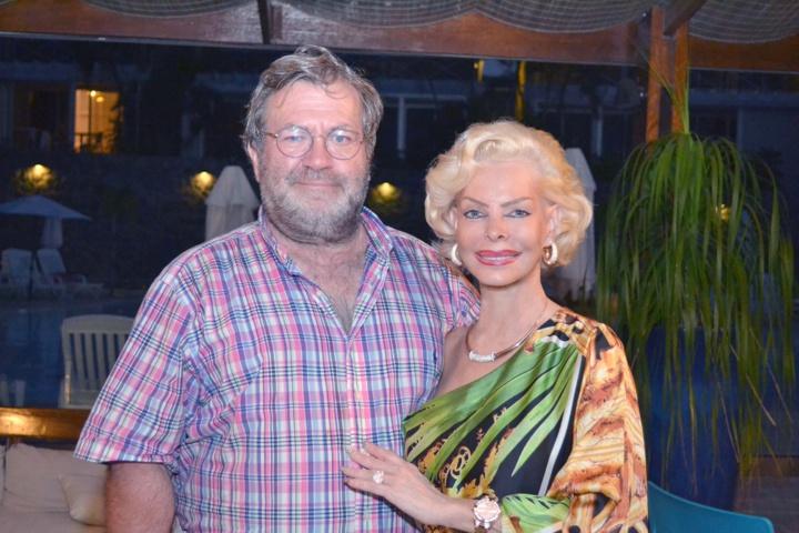 Avec son mari Pierre Bianchini