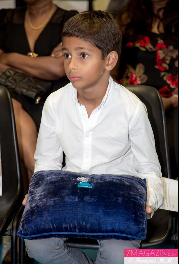 C'est Antoine, le petit-fils d'Ida, qui gardait précieusement la médaille avant la remise officielle
