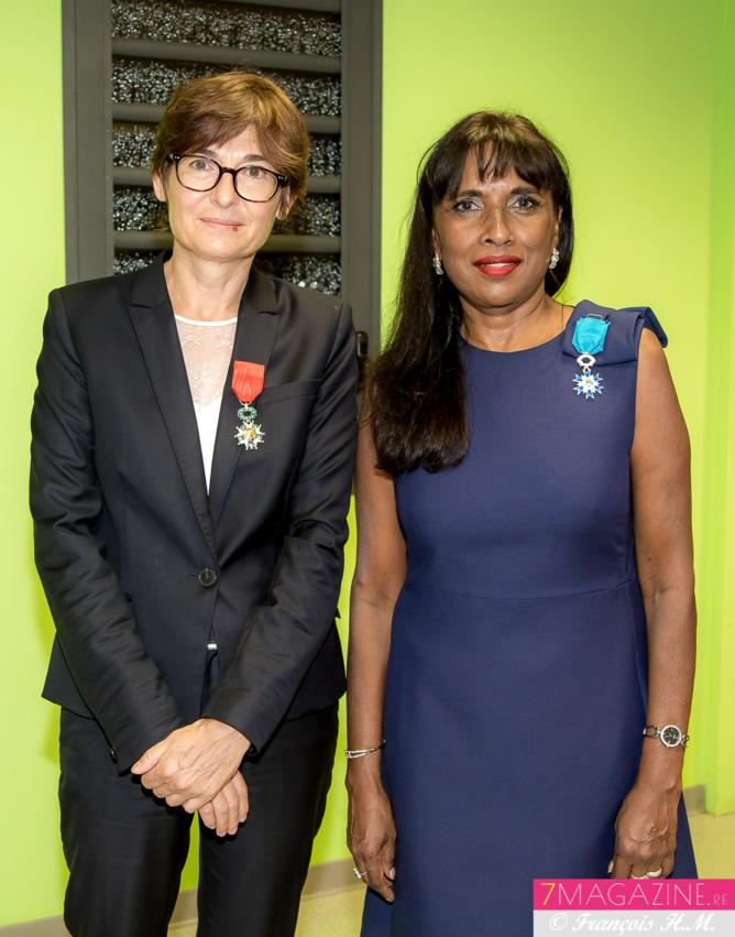 Christine Geoffroy et Ida Mag Camalon