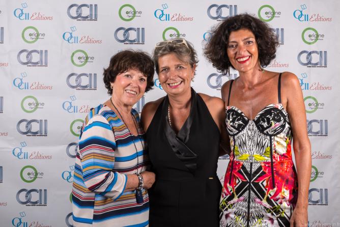 Eliane Haggai, Myriam Boullay, et Emmanuelle Haggai