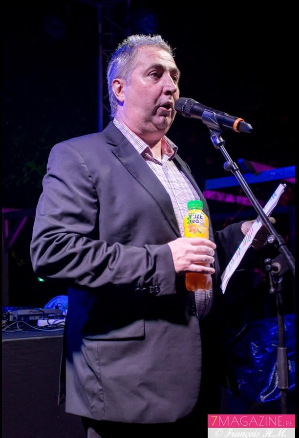 Claude Lasseigne, directeur général d'Edena, lors de son discours