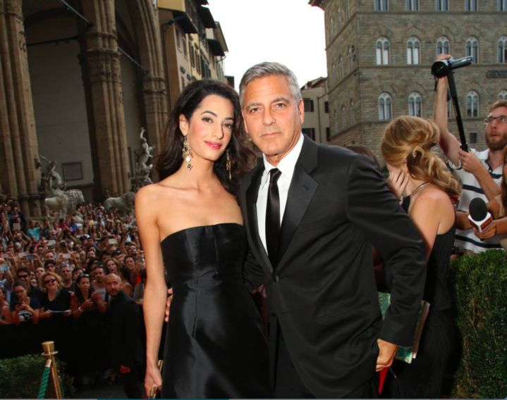 George Clooney doublement papa !