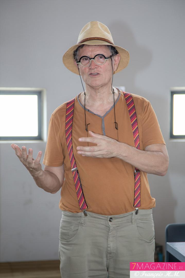 René-Louis Pestel, président de la Cité des Arts