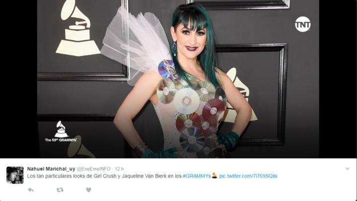 Les stars débarquent (très) dénudées aux Grammy Awards