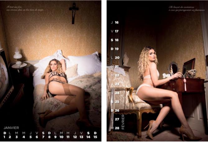 Clara Morgane: un 15ème calendrier sexy!