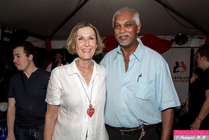 Catherine Gaud et Jean-Bernard Bashir Rangayanaguy