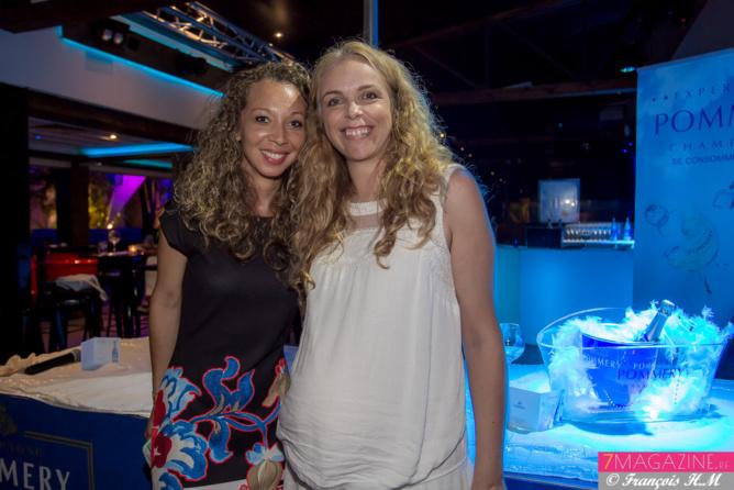 Aurélie Florian et Laure Testart (qui attend un heureux événement)