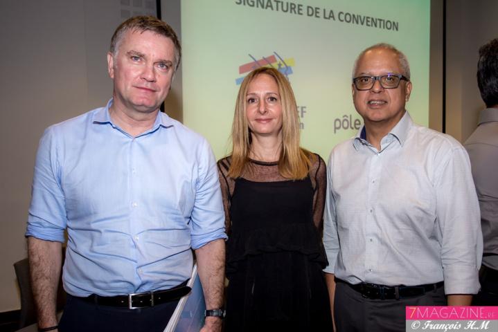 Alain Druelles, Sandrine Dunand-Roux, et Didier Fauchard
