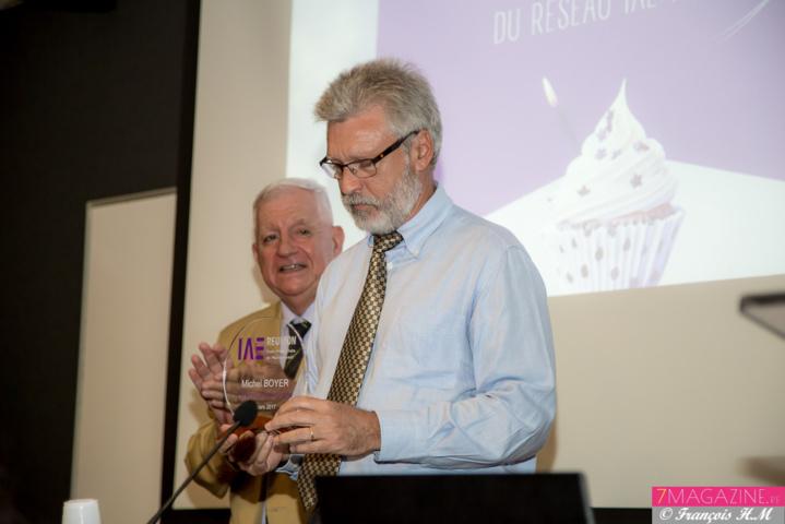 Michel Boyer a marqué l'histoire de l'IAE Réunion