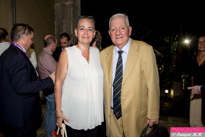 Danièle Le Normand, vice-présidente de la Région, et Maurice Cérisola
