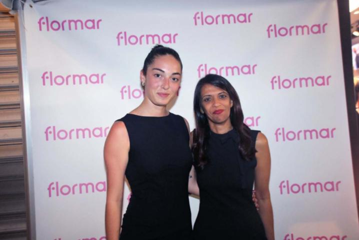 Ambre Gaboriau, assistante marketing communication Flormar Réunion, et Zahra Abdoulhoussen