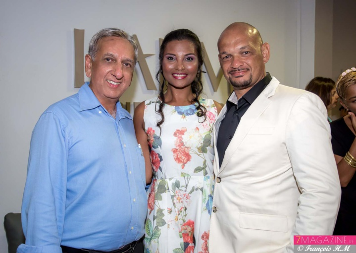Aziz Patel, Florence Cataye et Pierre Nice