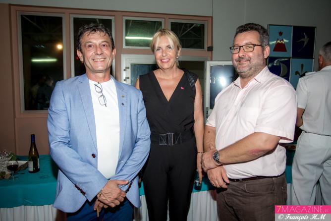 Jean-Luc Schneider, Eve Lyne et Hervé Charlanes