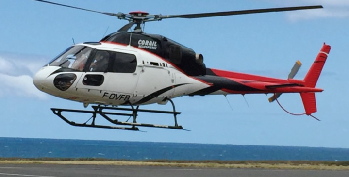Corail Hélicoptères enfin autorisé à voler à l'île Maurice!
