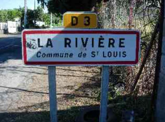 La Rivière, commune de Saint-Louis, ce sera bientôt fini!