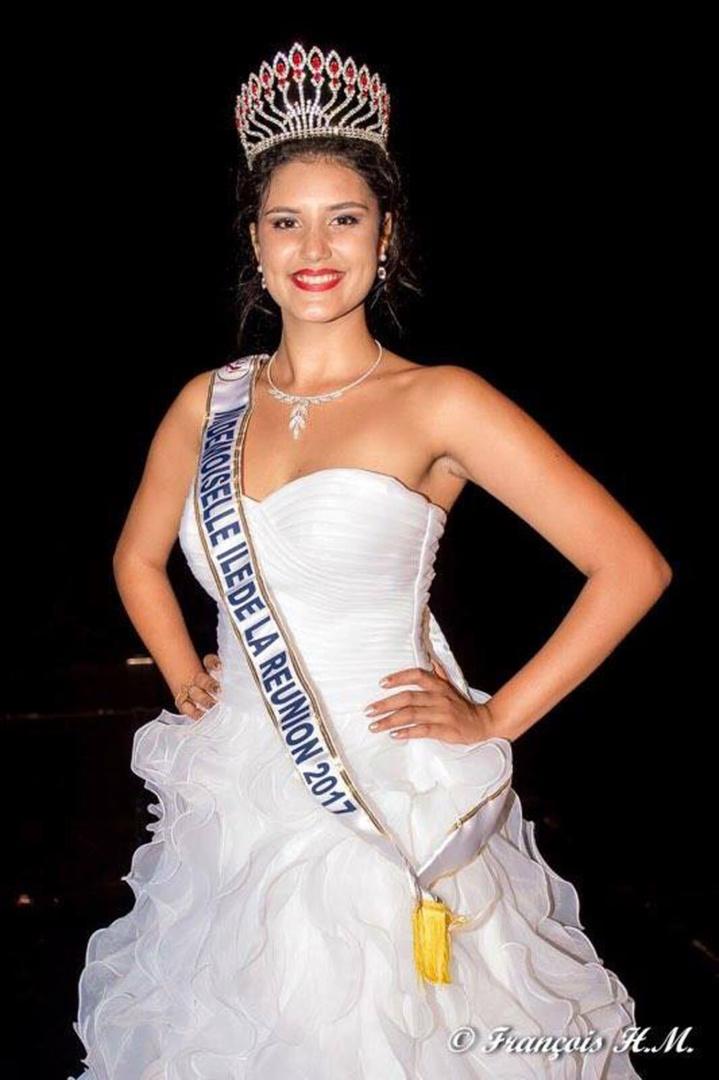 Elle a été élue Mademoiselle Ile de La Réunion en février