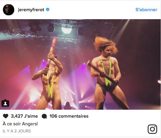 Photo: Instagram Jérémy Frérot