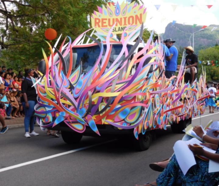Le char de La Réunion en 2016