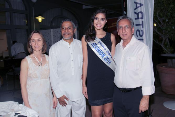 Brenda Guidi, Amédée Louis-Fernand, Ambre N'guyen, et Aziz Patel
