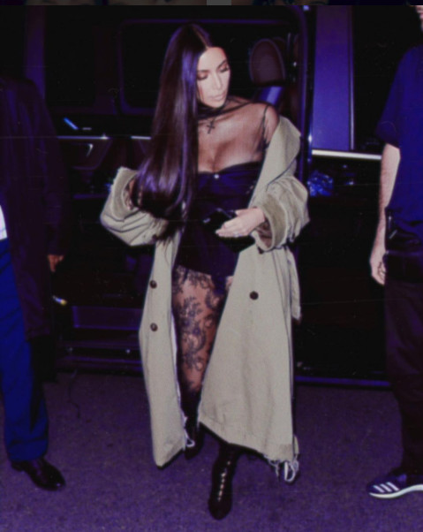 Kim Kardashian : Un petit troisième?
