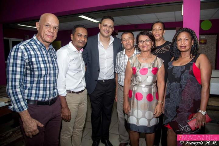 Avec l'équipe municipale de Saint-Leu