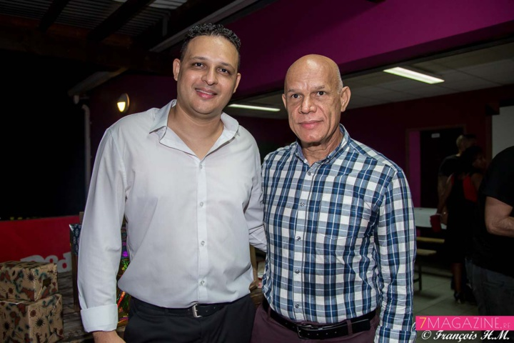 Johan avec Khaled Moussadjee