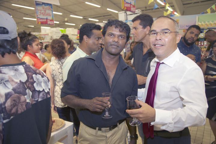 Avec le célèbre Jean-Claude Coindin de Cases Créoles