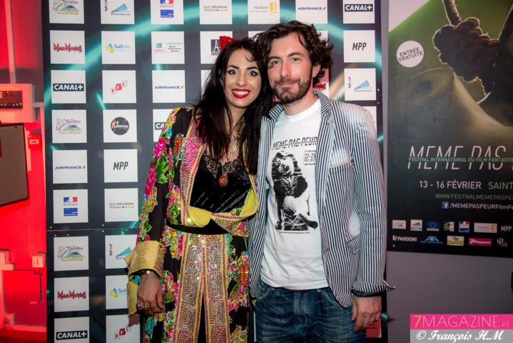 Aurélia Mengin et Nicolas Luquet, son collaborateur