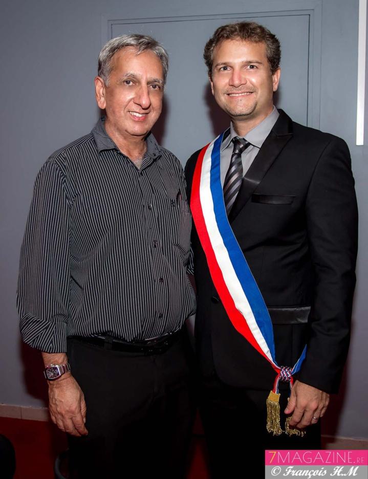 Aziz Patel et Olivier Rivière