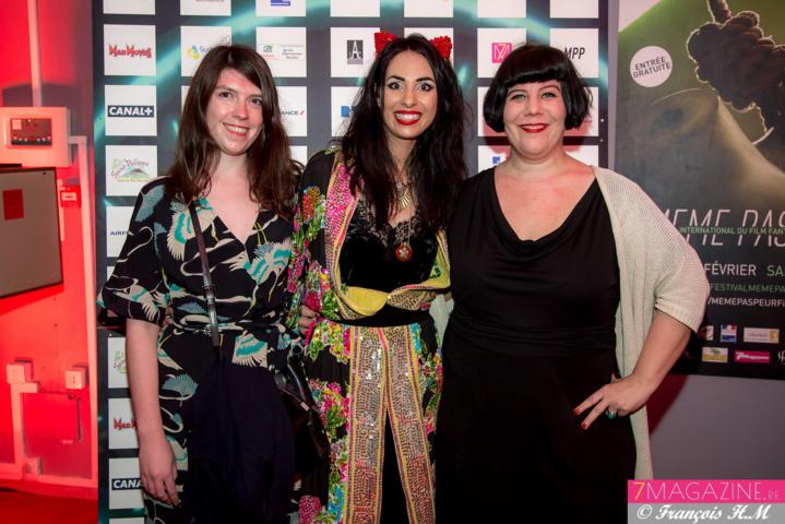 Jeanne Le Gall, distributrice chez Arizona Films, et Germaine Paulus, rédactrice en chef du magazine cinéma allemand Deadline Magazine