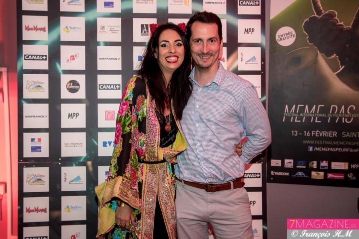 Aurélia Mengin et Erwan Edern, directeur des Partenariats à Air France Réunion