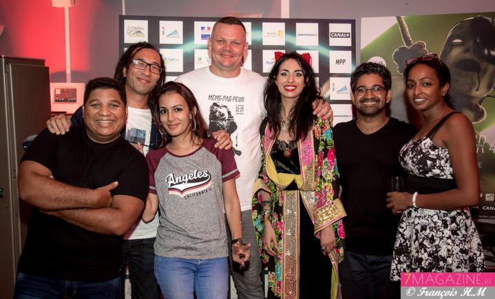 Yannick Courtois, Pascal Wong-Fong, AUrélia Mengin et l'équipe d'O'tv