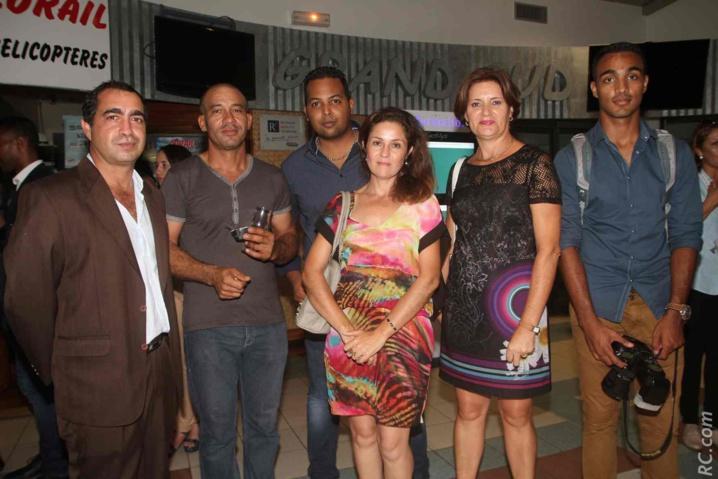 Laurent Lorion de la CIVIS et l'équipe de Destination Sud Réunion
