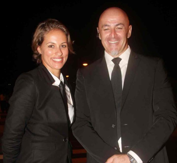 Murielle Alanoix de Elite Tour, et Freddy, «Chauffeur Privé Professionnel»