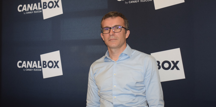 Thomas Jayet, directeur général de Canal+ Télécom, affiche de grosses ambitions pour La Réunion