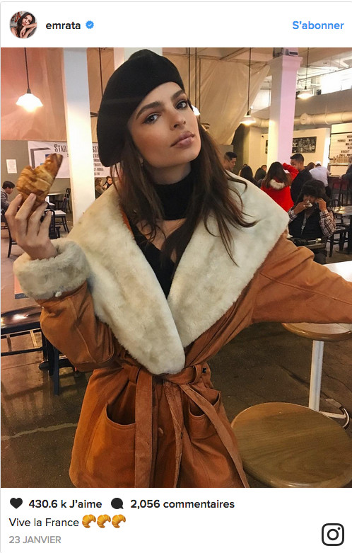 Emily Ratajkowski : régime kouign amann