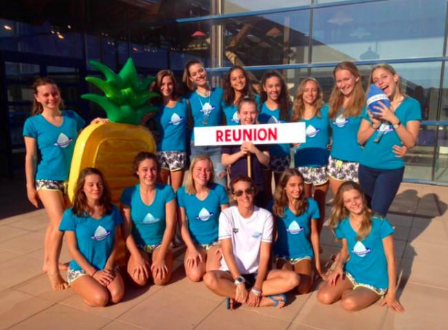 Les filles des Aquanautes championnes de National 2 en natation synchronisée